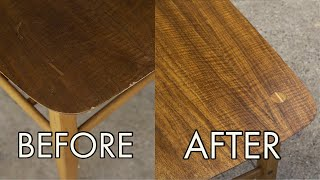 Thrift Store Rescue #22 | Refinishing And Repairing A Mid Century Lane Table