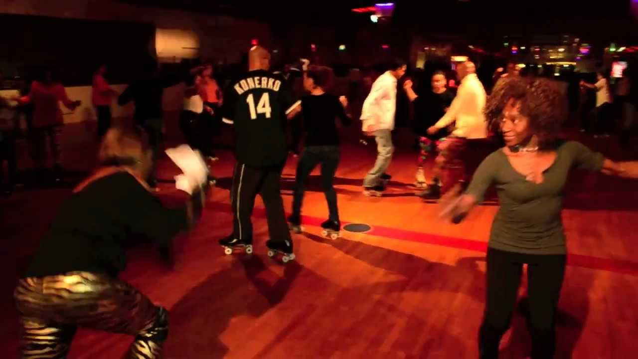 Hot skates roller skating rink with dj big bob 12 8 11