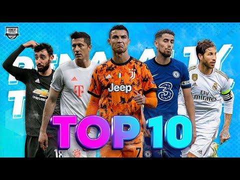 Top 10 Penalty Takers In the Last 5 Years