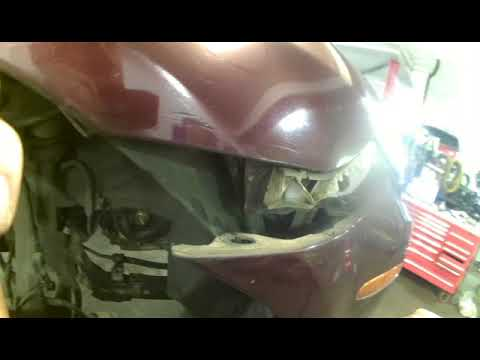 Headlamp assembly replacement Mazda 6 2006.  Install, remove or replace
