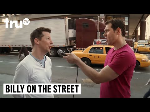 Billy on the Street  Who's the Most Famous Person Sean Hayes Can Get on His Phone?