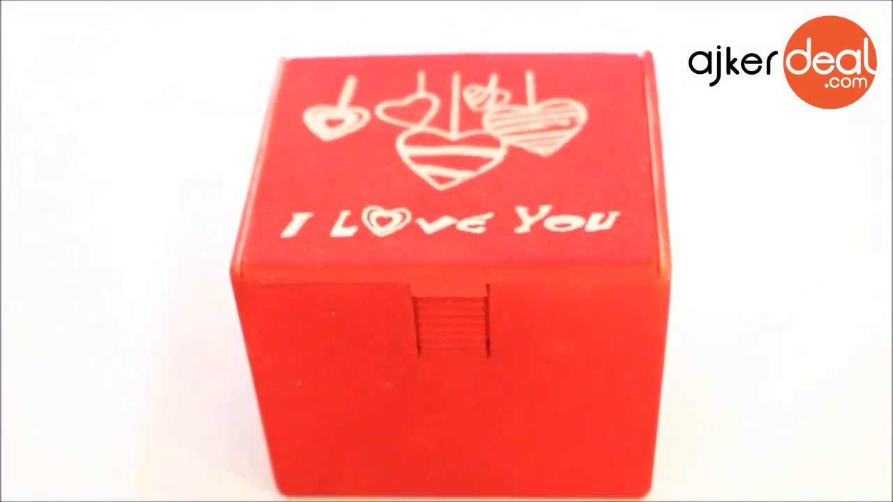 I Love You Gift Box Valentine Gift Box With Sound