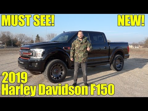 Harley Davidson Ford F Reveal Exhaust Walkaround and Review