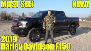 2019 Harley Davidson Ford F150 Reveal Exhaust Walkaround and Review