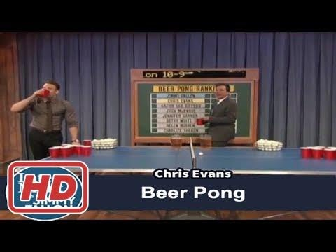 [Talk Shows]Beer Pong with Chris Evans and Jimmy Fallon