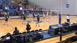 Cal State LA Volleyball defeats UCSD Tritons Oct 19, 2013