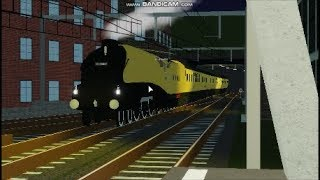 Roblox Terminal Railways: Chasing the Golden Streak Steam train ft. Polar express