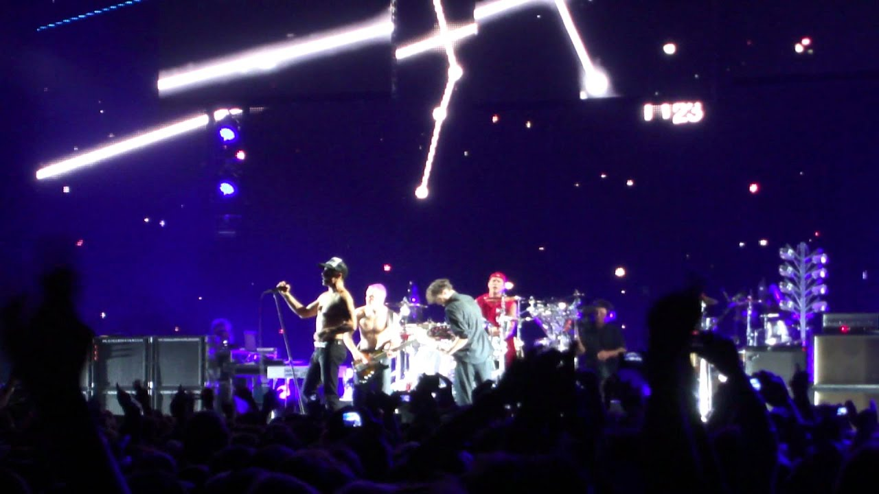red hot chili peppers jyske bank boxen