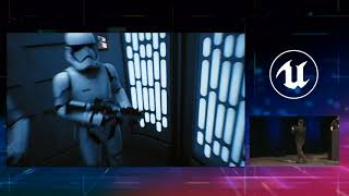 Real-Time Ray Tracing Star Wars Demo