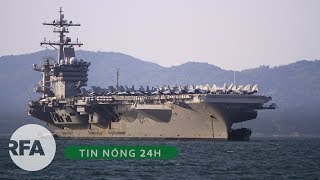 Tin nóng 24H | Hải quân Hoa Kỳ chuẩn bị đưa tàu sân bay thứ hai tới Việt Nam