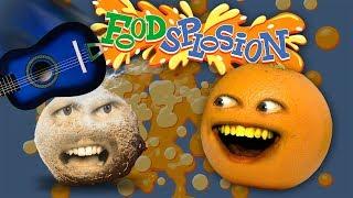 Annoying Orange - Foodsplosion #5: Coconut Ukelele (ft. Smpfilms)