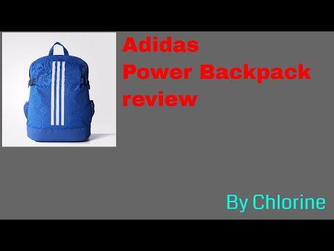 9aee18cf2f Adidas 3-stripes power backpack(Medium) review - YouTube