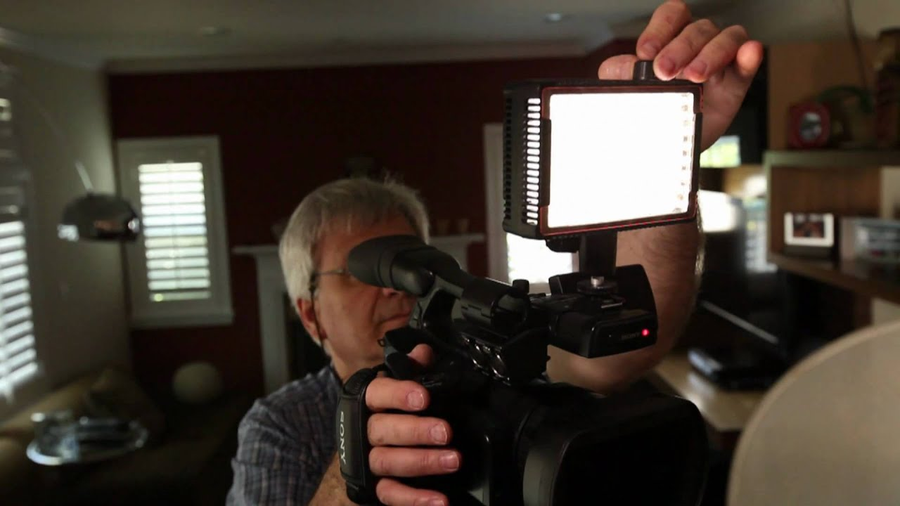 Litepanels LED lighting systems - MicroPro On Camera LED Video ...