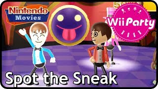 Wii Party: Rule Reversal / Spot the Sneak (2 players, Master Difficulty)