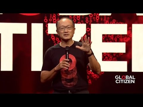 World Bank's Jim Kim Calls for End to Extreme Poverty at Global Citizen Festival Hamburg