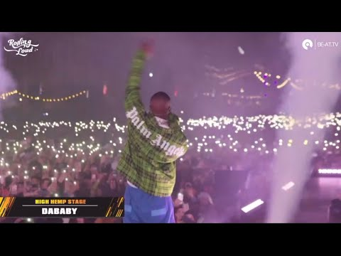 DaBaby  at Rolling Loud Los Angeles 2019  set