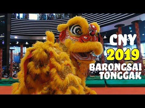 Pertunjukan Lion Dance Barongsai Aeon Mall - Barongsai Tonggak CNY 2019
