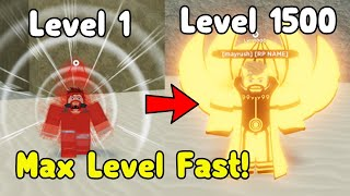 Download lagu Got Max Level Jin Fast In A Day Using This Method! - Shinobi Life 2 Roblox