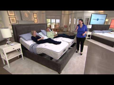 Sleep Number Qseries 6.1 CK Mattress Set w/ADAT & Modular Base with Rick Domeier