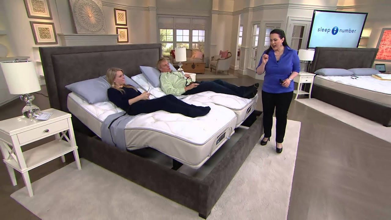 sleep number qseries 61 ck mattress set wadat modular base with rick domeier - Sleep Number Bed Frame