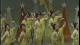 Rakhine (Rakhaing, Arakan) traditional dance, TV Myanmar