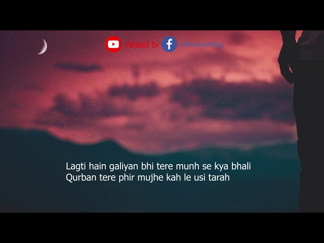 Roya Kareingy Aap Bhi | Momin Khan Momin | Sad Urdu Shayari | Hindi Poetry