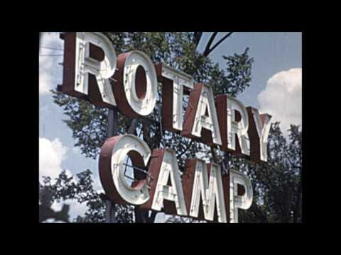 Rotary Youth Camp Experience from 1952
