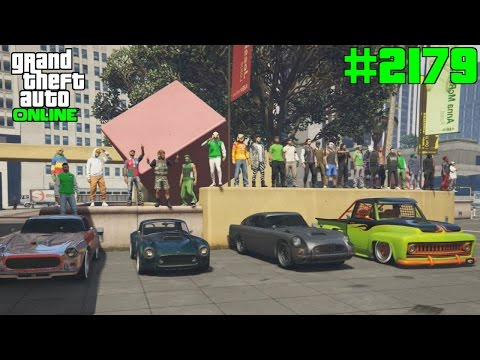 GTA 5 ONLINE Klassiker Tuning Treff #2179 Let`s Play GTA V Online PS4 2K