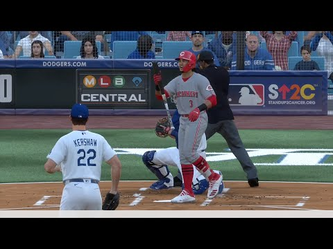 MLB Today 6/30 - Los Angeles Dodgers Vs Cincinnati Reds Full Game Highlights (MLB The Show 20)