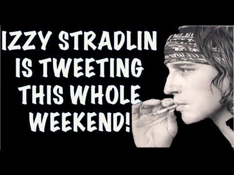 Guns N' Roses News: Izzy Stradlin Tweeting This Whole Weekend!