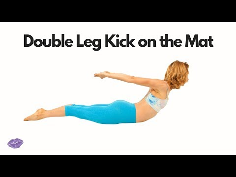 Double Leg Kick on the Mat | Online Pilates Classes