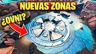 NEW AREA in BALSA BOTIN with UFO or SPACE NAVE in FORTNITE (UPDATE 8.40) NEW MAP