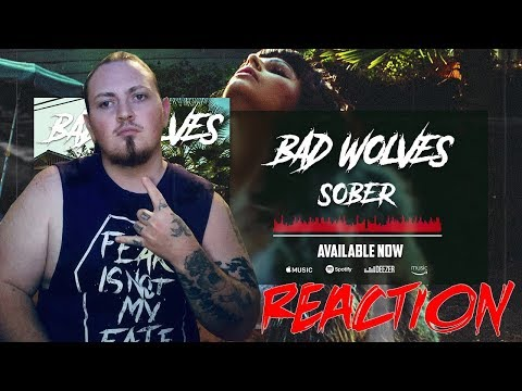 bad-wolves---sober-(official-audio)-|-reaction