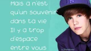 Justin Bieber- One Less Lonely Girl (French Version) With Lyrics