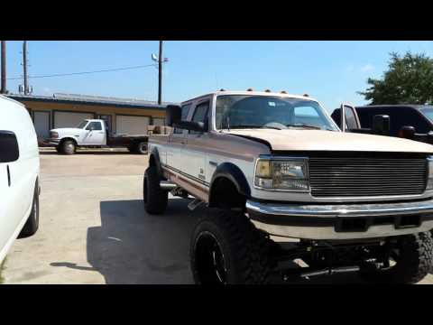lifted 97 f250 powerstroke youtube. Black Bedroom Furniture Sets. Home Design Ideas