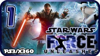 Star Wars: The Force Unleashed Walkthrough Part 1 (PS3, X360, PC) No Commentary