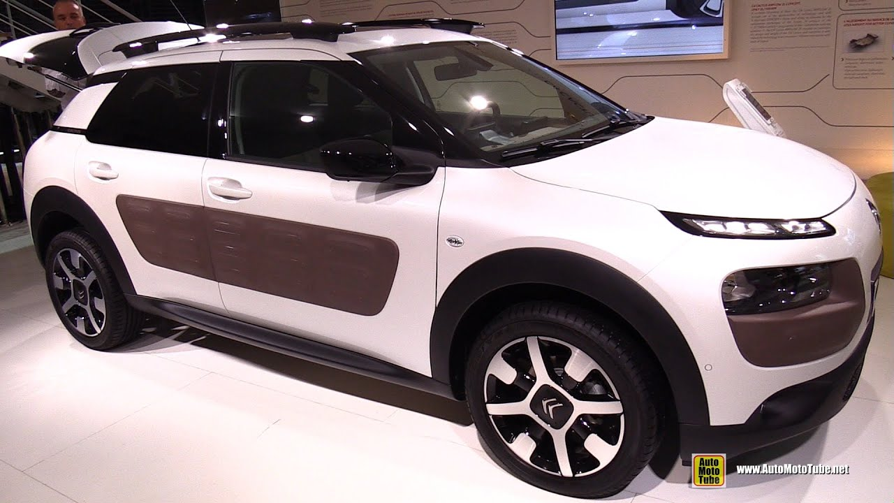 2015 Citroen C4 Cactus Exterior And Interior Walkaround