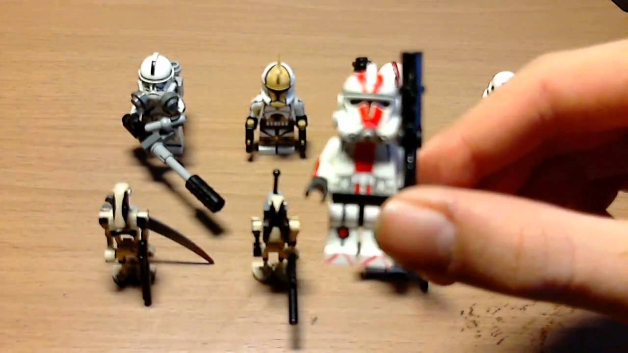 lego star wars custom figuren - YouTube