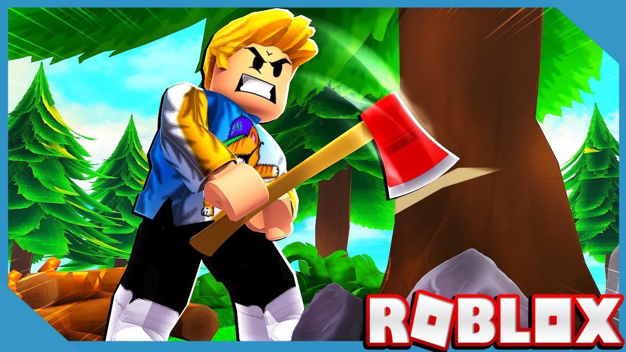 Noob VS Roblox Timber