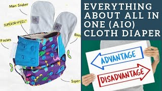 All In One Cloth Diaper | Advantage and disadvantages of AIO