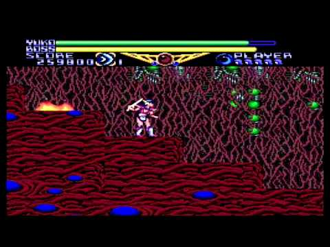 Valis II (TurboGrafx / PC Engine) complete playthrough
