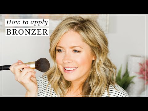 How to Apply Bronzer (and why Contour is NOT the same!!)