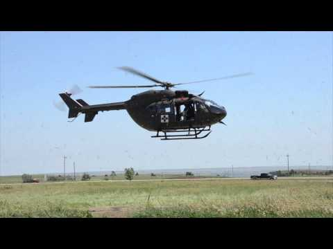 SD Army Guard LUH 72 Lakota helicopter