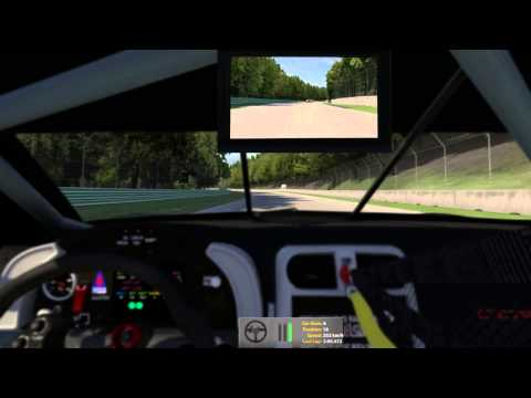 iRacing: Prototype & GT Championship, big race onboard at Road America