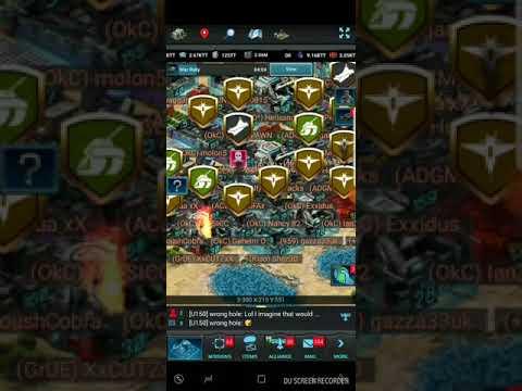 Mobile Strike - Zeroing everyone! 10/4/17