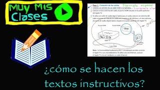 Textos Instructivos