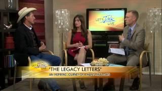 """Carew Papritz on ABC's """"Let's Talk Live"""" show in Washington D.C."""