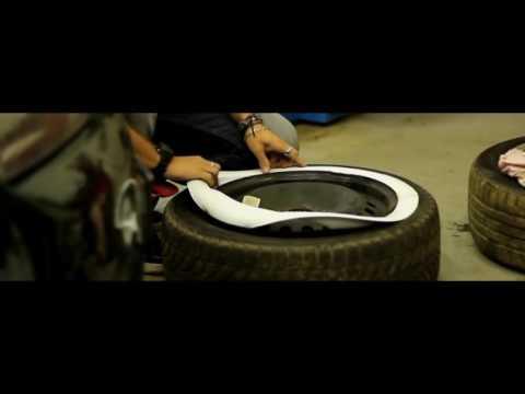 Retro wheels by Moon Wheel Customs