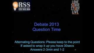 Does God Exist? 2013 - Burden of Proof, Cosmology, Morality, Revelation - Part 2/2
