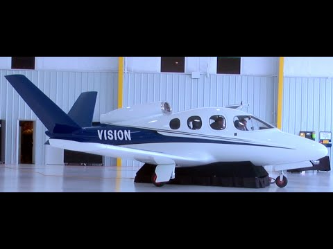 "New Mini-Episode! - ""The Personal Jet-Set""  Cirrus Vision SF50 with G3000 touchscreen operations!!!"